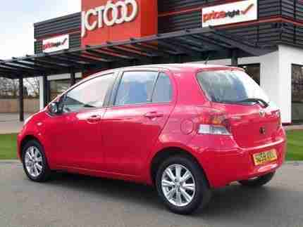2009 TOYOTA YARIS MANUAL 5-DOOR HATCHBACK