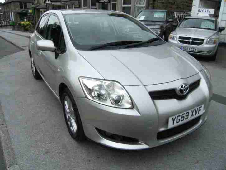 toyota 2009 auris dual vvti tr 5dr 5 door hatchback car for sale. Black Bedroom Furniture Sets. Home Design Ideas
