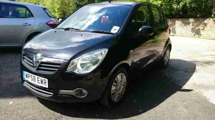 2009 VAUXHALL AGILA 1.2L CLUB IN BLACK, STUNNING CONDITION INSIDE AND OUT.