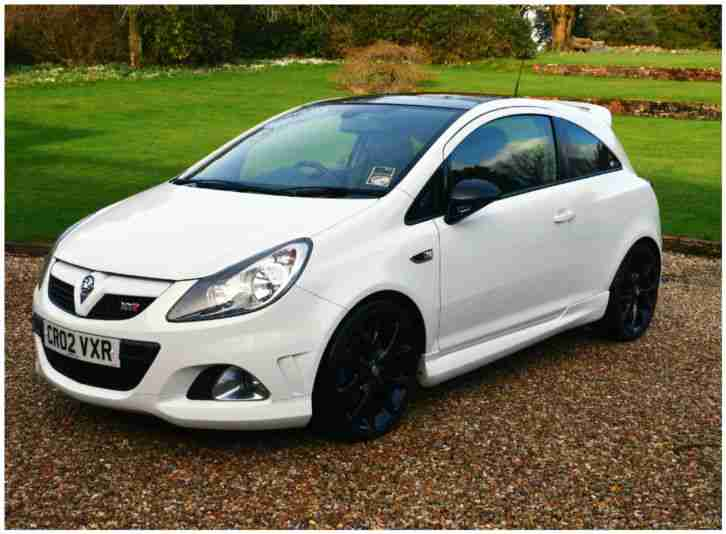 2009 vauxhall corsa vxr arctic edition white car for sale. Black Bedroom Furniture Sets. Home Design Ideas