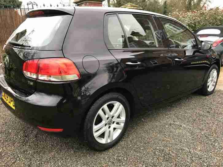 2009 VOLKSWAGEN GOLF SE TSI BLACK - AA INSPECTED HPI CLEAR EXCELLENT CONDITION