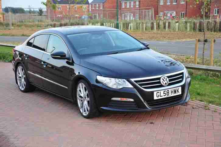 volkswagen 2009 passat cc sport tdi black car for sale. Black Bedroom Furniture Sets. Home Design Ideas