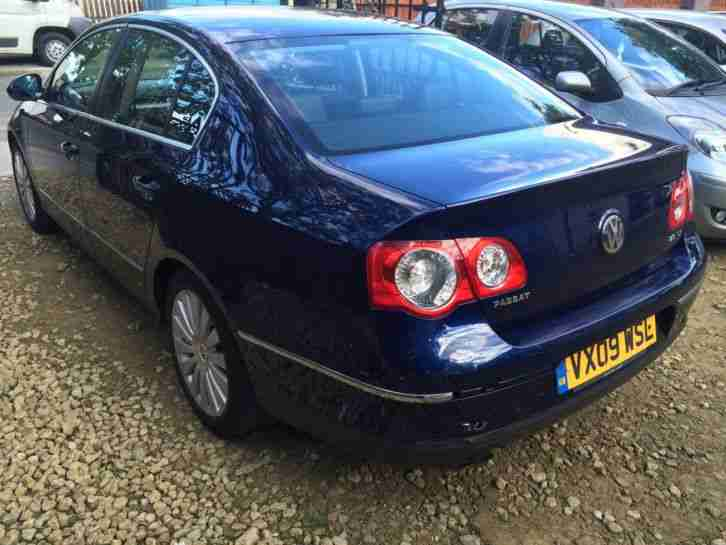 2009 VOLKSWAGEN PASSAT HIGHLINE 2.0 TDI 140 BLUE NOT DAMAGED Px swop