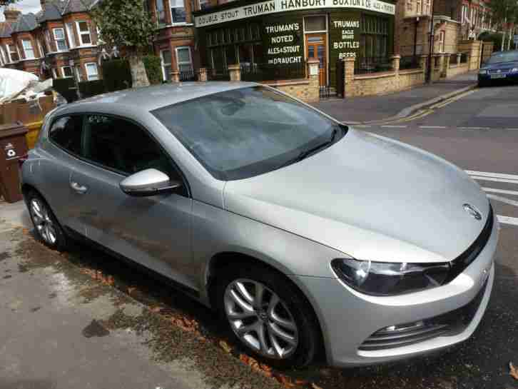 2009 VOLKSWAGEN VW SCIROCCO TDI SILVER 71,000 MILES. GOOD CONDITION, 11MTH MOT