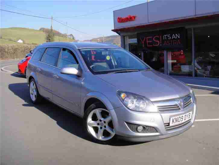 2009 vauxhall astra sri petrol silver manual car for sale. Black Bedroom Furniture Sets. Home Design Ideas