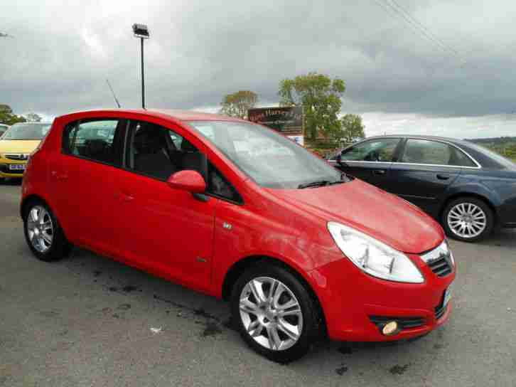 2009 vauxhall corsa 1 4 design automatic 57 000 miles car for sale. Black Bedroom Furniture Sets. Home Design Ideas