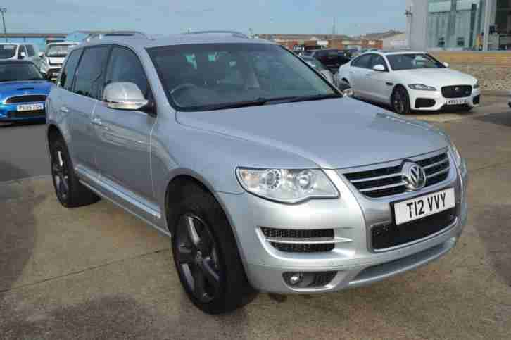 volkswagen 2009 touareg diesel silver n a  car for sale