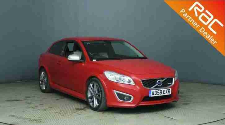 2009 Volvo C30 Sports Coupe 3Dr 1.6D DRIVe 109 DPF R DESIGN Diesel red Manual