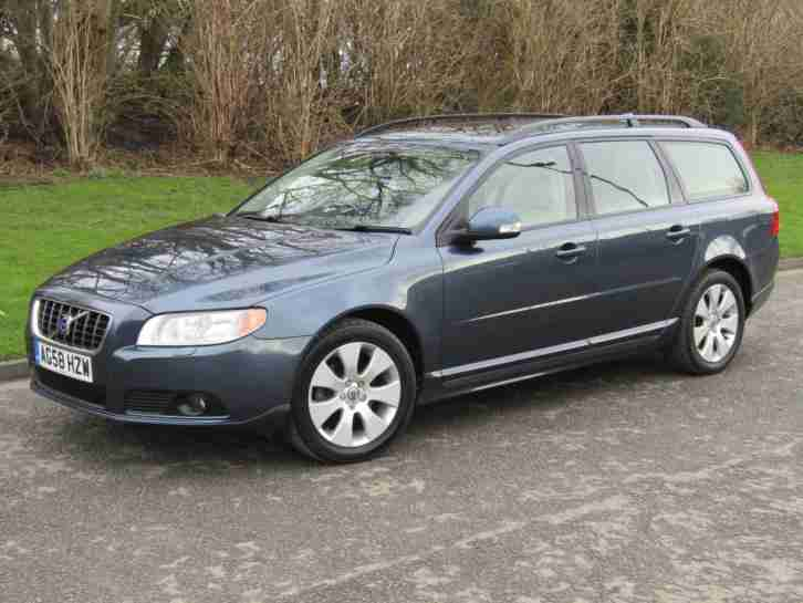 2009 Volvo V70 2.0 D SE Manual 6 Speed Diesel Estate Barents Blue 134 bhp