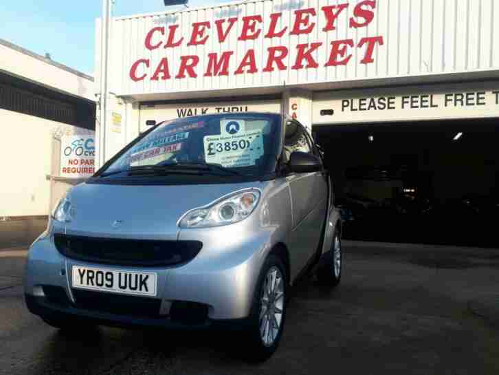 2009 smart fortwo 1.0 Passion Automatic 12 MONTHS MOT, FULLY SERVICED and GUARA