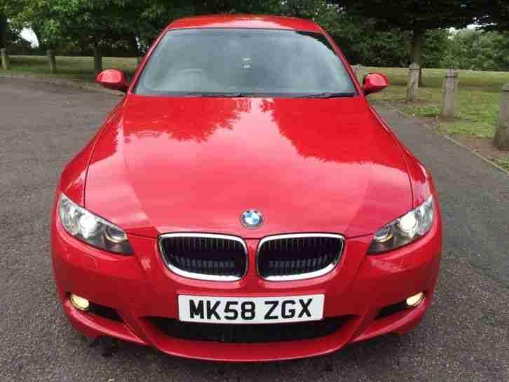 2009MY BMW 320i M SPORT COUPE, LOW MILES, SUPERB SPECIFICATION...