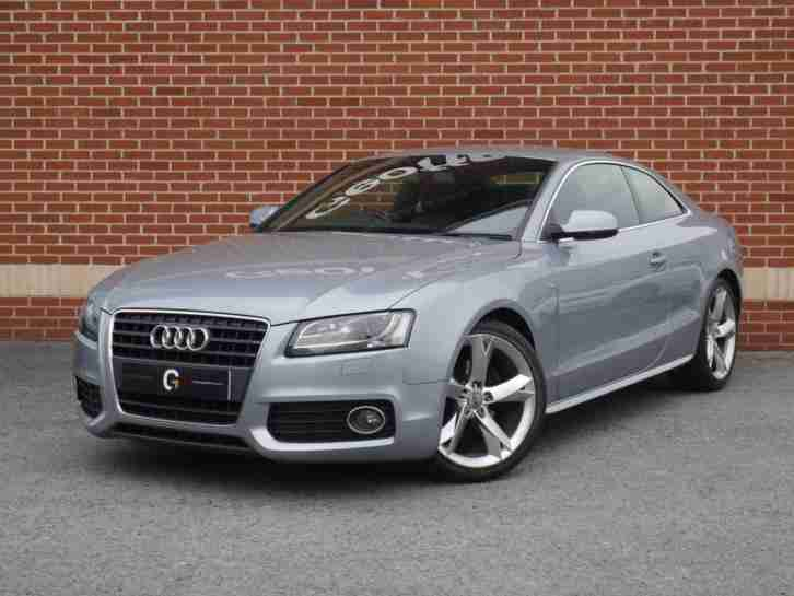 Audi 2010 10 A5 20 Tfsi S Line Special Edition 2dr Grey Petrol