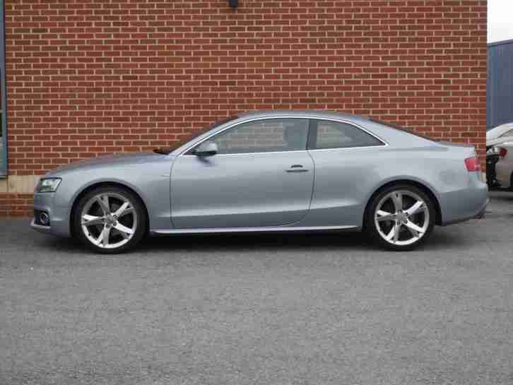 2010 10 Audi A5 2.0 TFSI S Line Special Edition 2dr (Grey, Petrol)