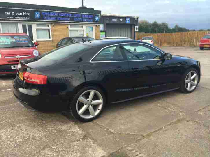 2010 (10) Audi A5 2.0TDI S-Line (170PS) Diesel Coupe Black