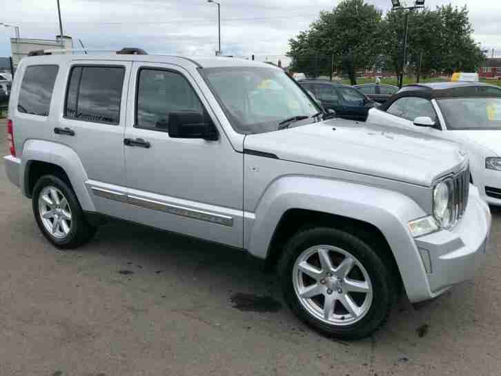 2010 10 CHEROKEE 2.8L LIMITED 5D AUTO