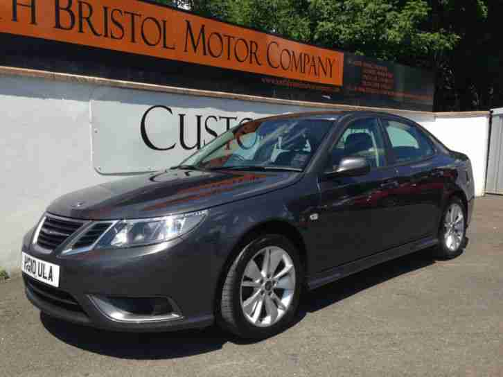 2010 10 SAAB 9-3 1.9 TiD 150ps TURBO EDITION SALOON ONLY 18K MILES FSH GREY