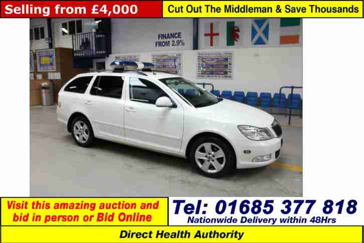 2010 - 10 - SKODA OCTAVIA ELEGANCE 2.0TDI 5 DOOR ESTATE (GUIDE PRICE)