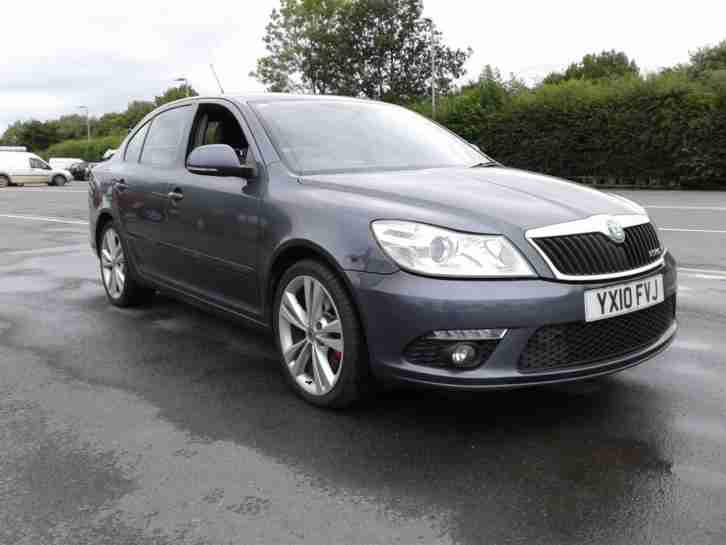2010 10 Skoda Octavia 2.0TDI CR 170bhp vRS Grey direct Police