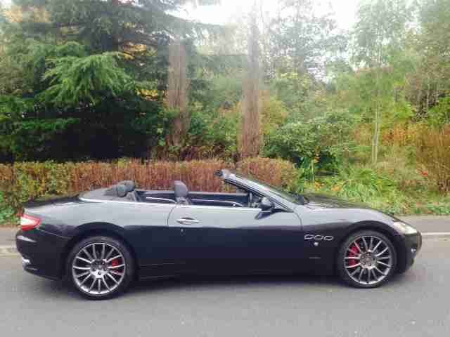 2010 10 reg,Maserati GranCabrio 4.7 auto convertible 1 previous owner