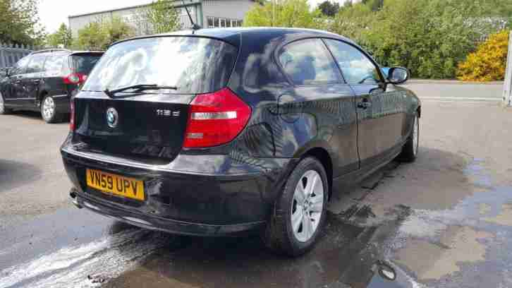 2010 59 REG BMW 1 SERIES 118d 2.0TD TURBO DIESEL DAMAGED REPAIRABLE SALVAGE