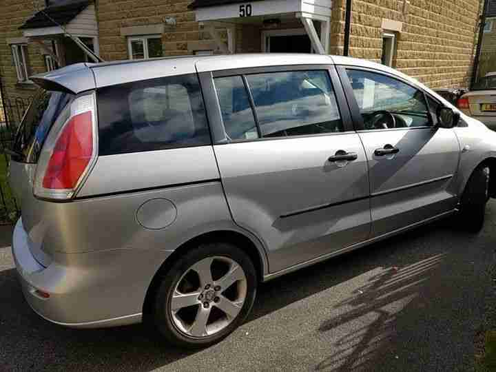 2010 59 plate Mazda 5 ts 1.8 petrol 7 seater. 12 Months MOT and service on 11 12