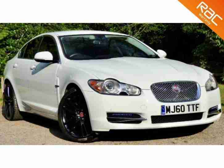 2010 60 JAGUAR XF 3.0 V6 LUXURY 4D AUTO 240 BHP DIESEL 20 ALLOYS+NAV+PHONE!