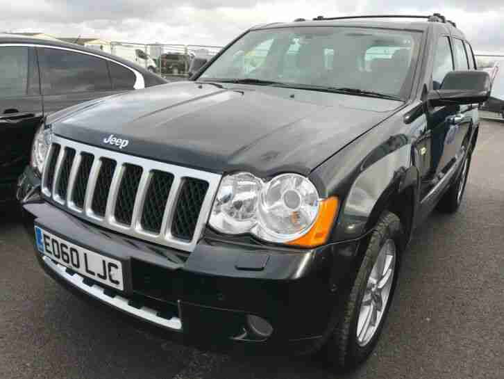 2010 60 JEEP GRAND CHEROKEE 3.0 CRD OVERLAND 1OWNER, SATNAV, LEATHER, 89K MILES