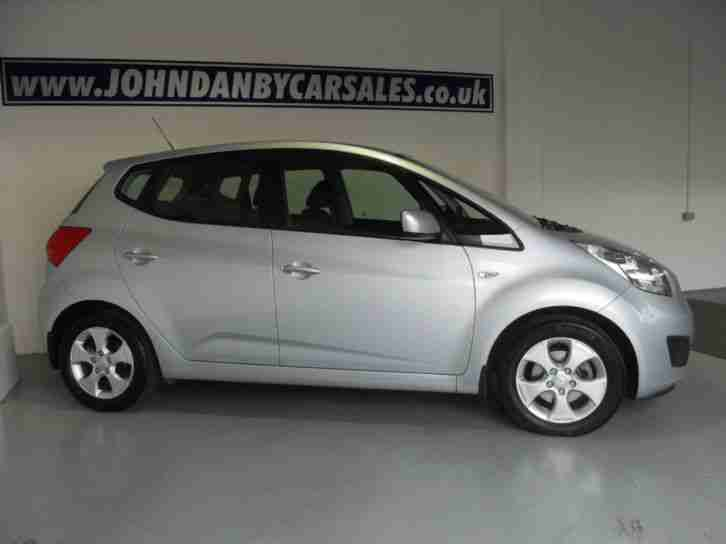 2010 60 Kia Venga 2 1.6 5 Door Hatch Silver LOW MILEAGE AUTOMATIC