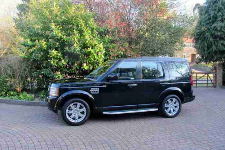 2010(60) LAND ROVER DISCOVERY 4 XS 3.0 TDV6 AUTO BLACK & JET