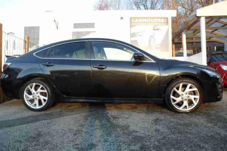 mazda 2010 60 6 2 0 takuya 5d 155 bhp black leather car for sale. Black Bedroom Furniture Sets. Home Design Ideas