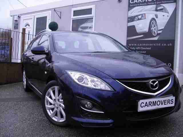 2010 60 MAZDA 6 2.2 D TS2 5D 163 BHP ( ONE OWNER + FULL HISTORY ) DIESEL