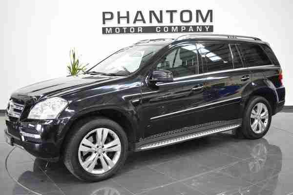 2010 60 MERCEDES-BENZ GL CLASS 3.0 GL350 CDI BLUEEFFICIENCY 5D AUTO 224 BHP DIES
