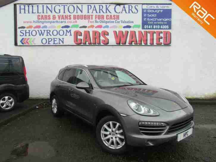 2010 (60) Porsche Cayenne 3.0TDI V6 Tiptronic S, GREAT SPEC, 2 KEYS