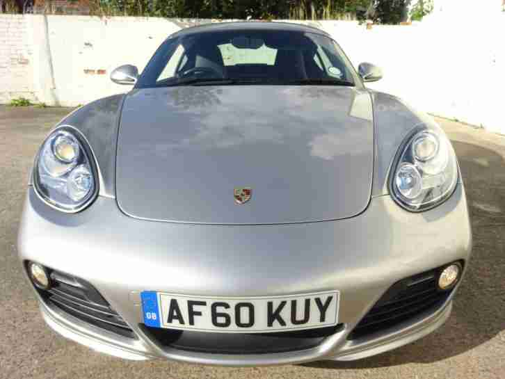 2010 60 REG PORSCHE CAYMAN S 3.4 SPORT COUPE NEW SHAPE DAMAGED REPAIRED SALVAGE