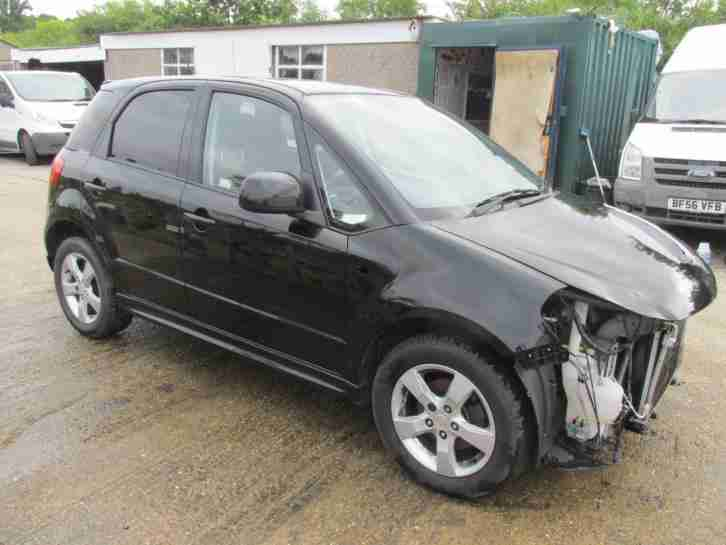 2010, 60 REG SX4 AERIO, DAMAGED