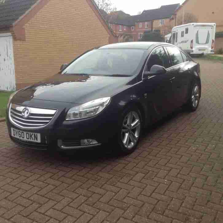 2010 60 reg vauxhall insignia sri 158 cdti black 1 owner 12 month mot. Black Bedroom Furniture Sets. Home Design Ideas