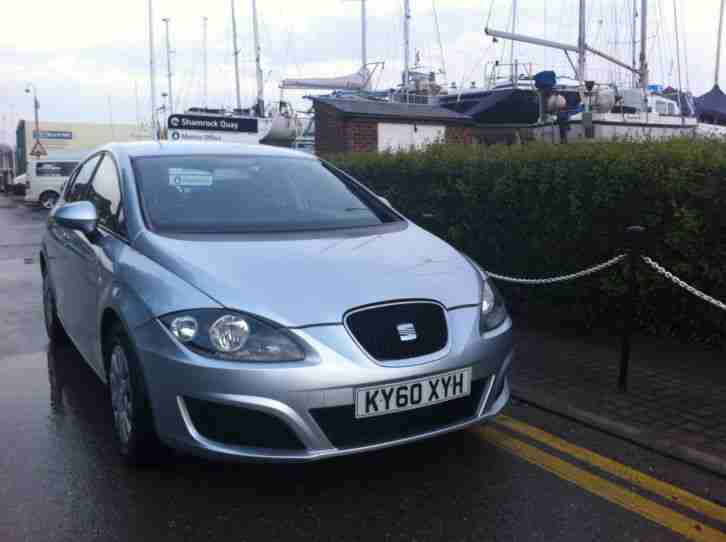 2010 (60) SEAT LEON 1.2 TSI S 5 DOOR MANUAL SILVER 40,000 MILES