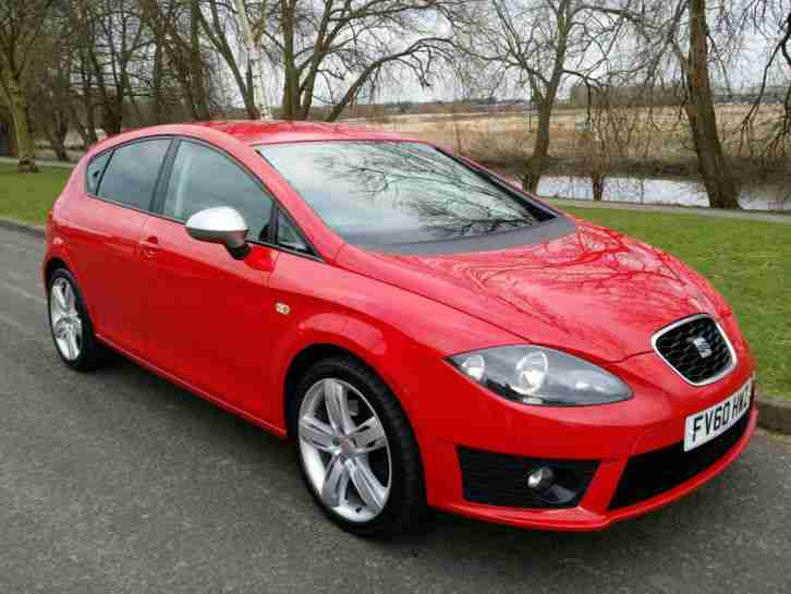 seat 2010 60 leon fr 170 bhp 2 0 tdi sat nav full history recent car for sale. Black Bedroom Furniture Sets. Home Design Ideas