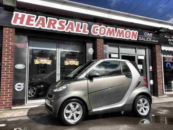 2010 60 SMART FORTWO CABRIO 0.8 PASSION CDI 2D AUTO 54 BHP ONLY 44K 12 M MOT