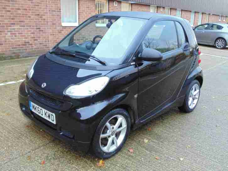 2010 60 Fortwo 0.8cdi (54bhp) Softouch