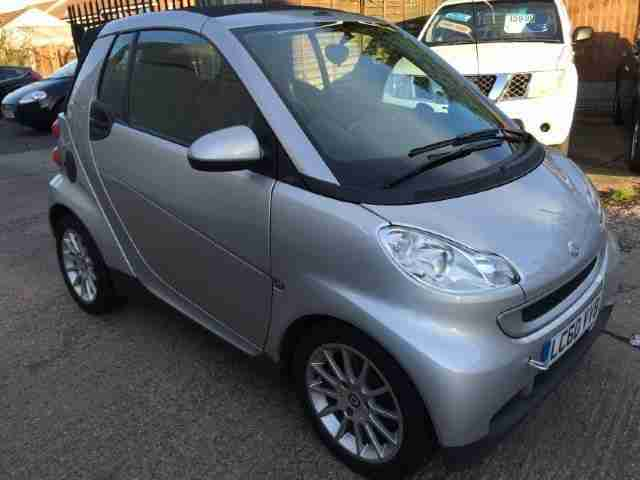 smart 2010 60 fortwo passion 1 0 semiautomatic 2 doors. Black Bedroom Furniture Sets. Home Design Ideas