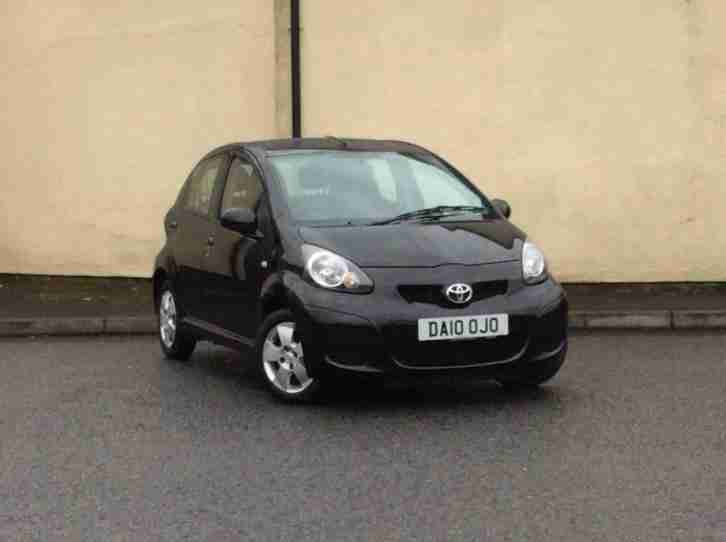 2010 60 Toyota Aygo Black 1.0 5 Door Black LOW MILEAGE