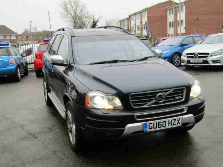 2010 60 VOLVO XC90 2.4 D5 R DESIGN SE AWD 5D 185 BHP DIESEL AUTOMATIC