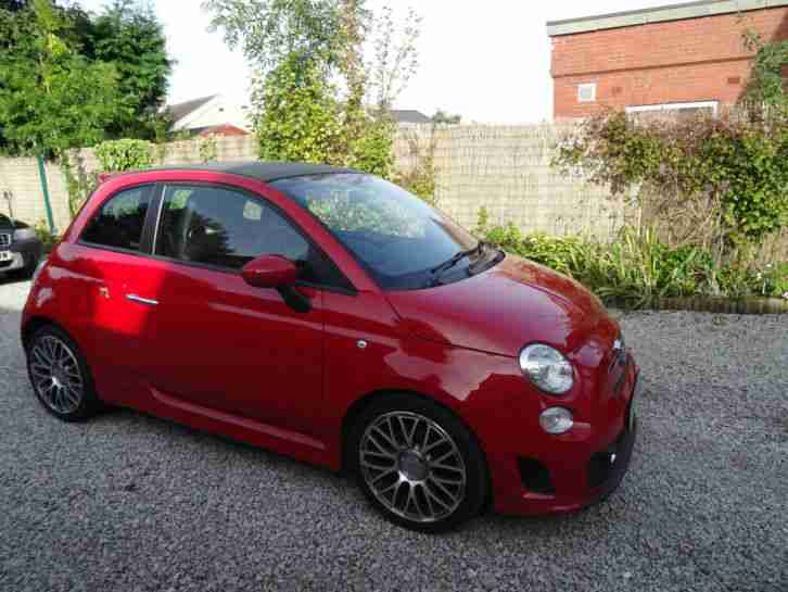 2010 ABARTH 500 C S A RED