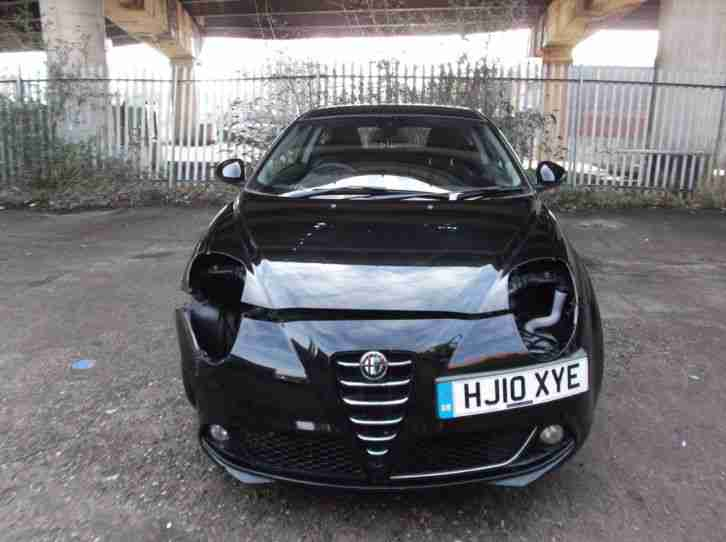 alfa romeo 2010 mito lusso miles cat d damage. Black Bedroom Furniture Sets. Home Design Ideas