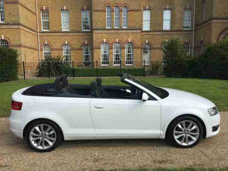 audi 2010 a3 cabriolet 1 6 tdi sport 2 owners fsh car for sale. Black Bedroom Furniture Sets. Home Design Ideas