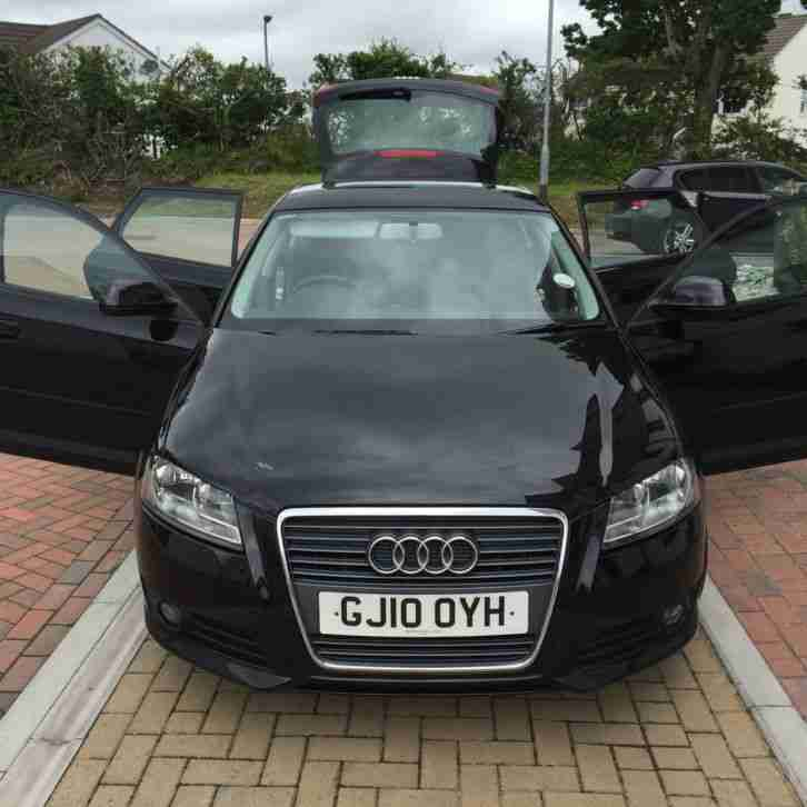 Audi 2010 A3 SPORT TDI BLACK. Car For Sale