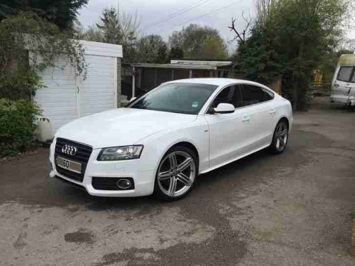 Audi 2010 A5 S Line Tdi Quattro White Car For Sale
