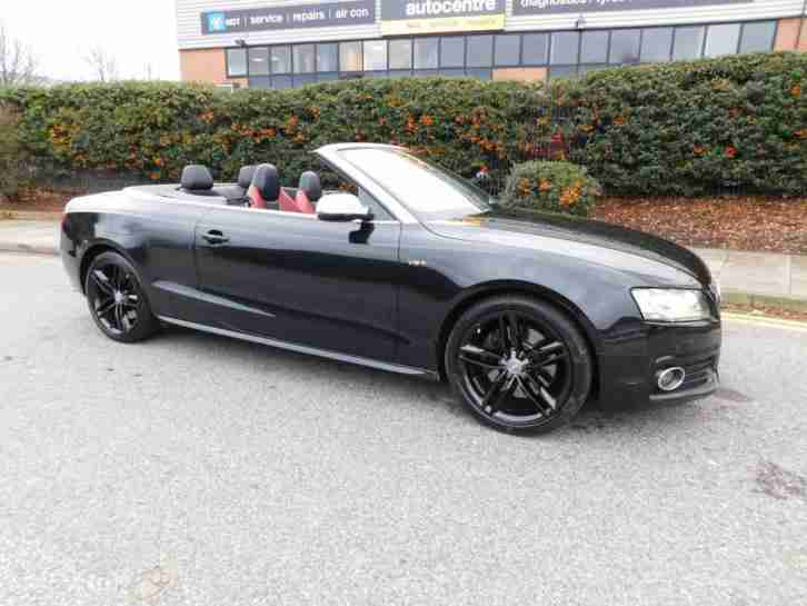 audi 2010 a5 s5 tfsi quattro convertible petrol car for sale. Black Bedroom Furniture Sets. Home Design Ideas
