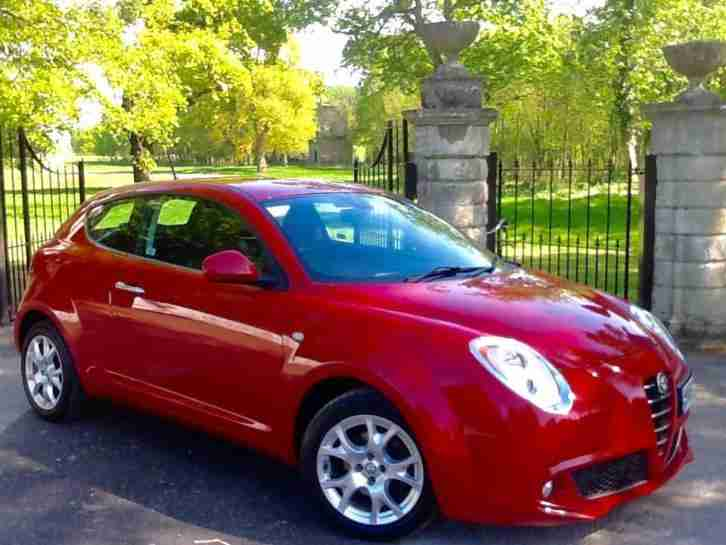 2010 Alfa Romeo MiTo 1.4 MULTIAIR LUSSO ONLY 50 000 MILES FROM NEW